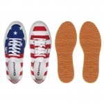 Scarpa Superga flag USA
