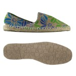 Scarpa Superga  Espadrillas juta green blue