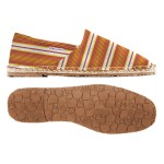 Scarpa Superga  Espadrillas tessuto rigato orange yellow