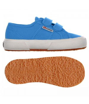 Scarpa Superga velcro jr azure blue